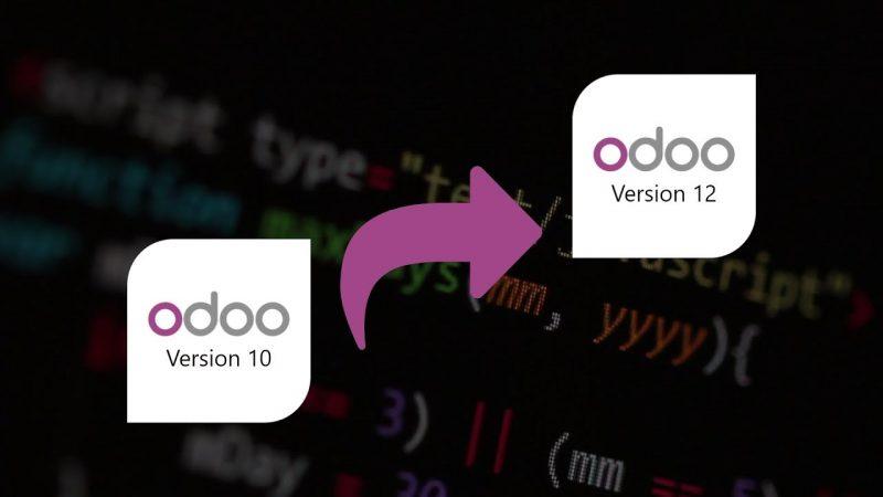 ترقية قاعدة بيانات أودو من إصدار إلى إصدار أعلى