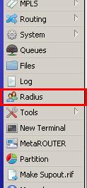 قائمة RADIUS