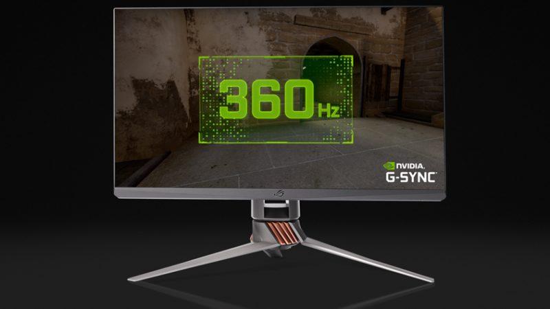 نفيديا تكشف عن أحدث شاشة ألعاب من أسوس بأعلى معدل تحديث 360Hz في مؤتمر #CES2020