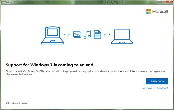 نهاية ويندوز 7 تشكل النهاية الحقيقية لعصر الحاسب الشخصي